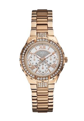 Guess Watch gold Guess Jam Tangan Wanita - Rosegold - Stainless Steel - W0111L3 B2E6FAC8A5F104GS_1