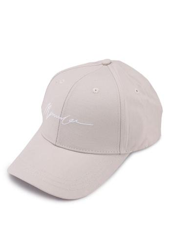 Mennace white Signature Baseball Cap 920D6ACD15A308GS_1