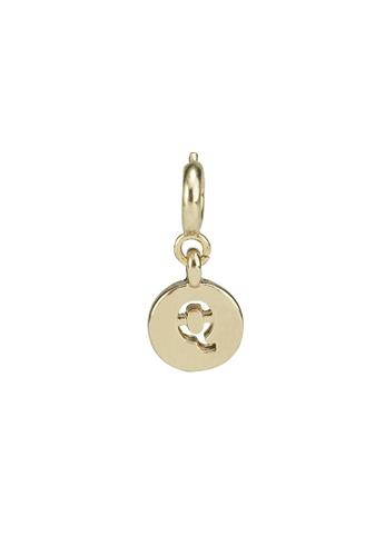 My Flash Trash gold Gold letter charm q 5A457AC33A0793GS_1