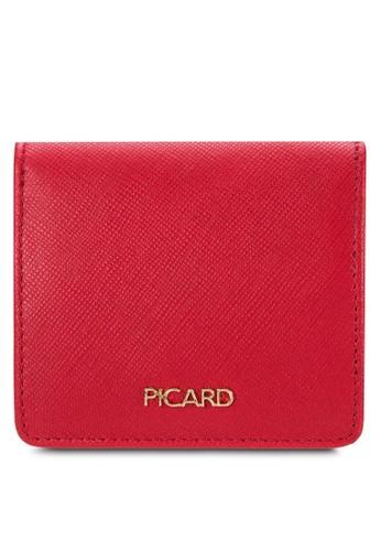 皮革方形零錢包, esprit服飾包, 旅行配件