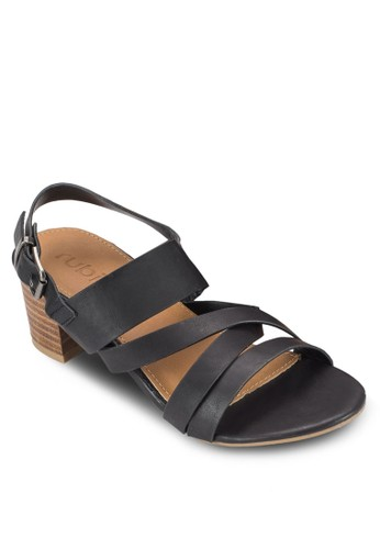 Pearl 簡約木製粗跟涼esprit 尖沙咀鞋, 女鞋, 鞋