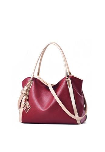 TCWK red TCWK Korea Style Red Ladies Handbag TC258AC0SKY8MY_1
