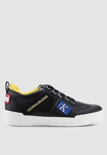 Calvin Klein 黑色 休閒運動鞋 01902SH087CEF6GS_1