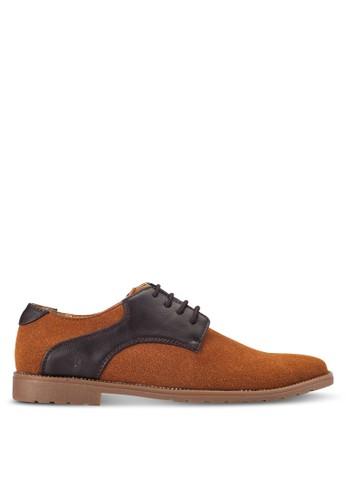 UniqTee brown Postman Derby Shoes UN097SH0RFVKMY_1