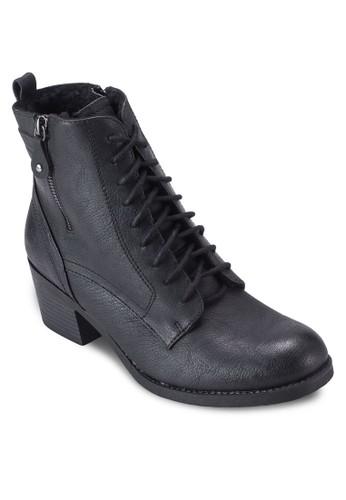 esprit hkBelieve 側拉鍊繫帶短靴, 女鞋, 鞋