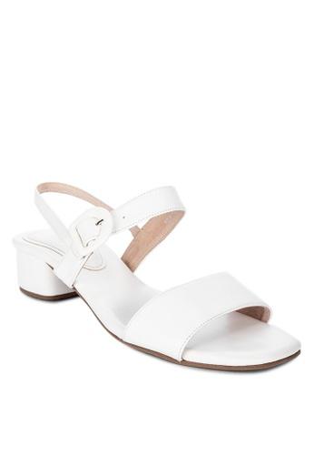 Shoo In white Claudette Heels 8B89CSHC629E5AGS_1
