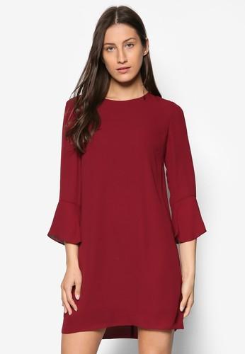 Collectiesprit 價位on 七分喇叭袖連身裙, 服飾, 洋裝