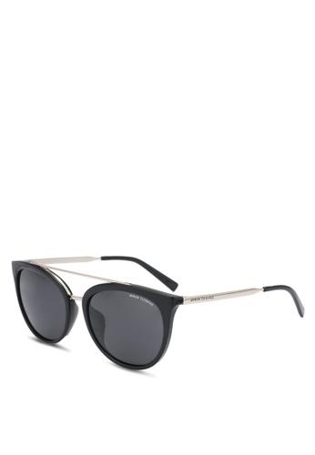 a2f625acae Armani Exchange black Armani AX4068SF Sunglasses AR162GL0SEPXMY 1