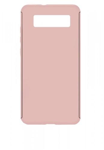 ba7d3f9cd41 MobileHub pink Samsung S10e 360 Degree Full Body Armor Case  FF5DCAC28AF9B0GS_1