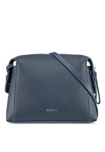 Esprit navy Faux Leather Shoulder Bag 57434AC76AD1C0GS_1