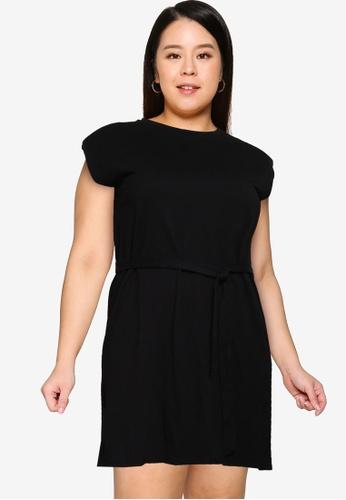 Only CARMAKOMA black Plus Size Jenny Life Tunic Dress 2E247AAFB99152GS_1