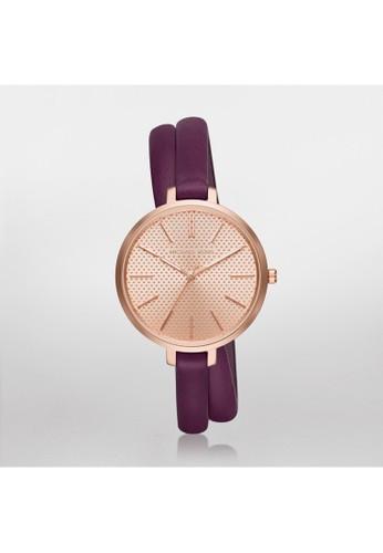 Jaryn雙環繞時尚腕esprit分店地址錶 MK2576, 錶類, 時尚型