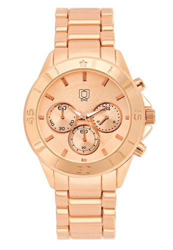 BRANWYN gold Amara Rosegold Steel Watch  BR709AC82RQBPH_1