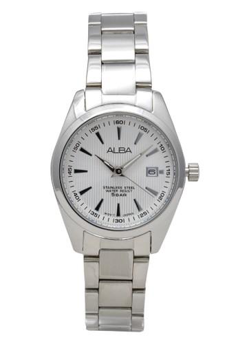 Alba silver ALBA Jam Tangan Wanita - Silver White - Stainless Steel - AH7A27  C643FAC29C4653GS_1