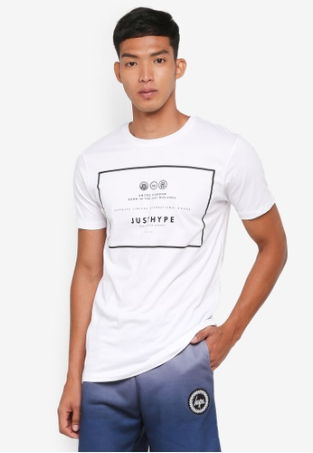Just Hype white Royal T-Shirt 8FF95AA5326C59GS_1
