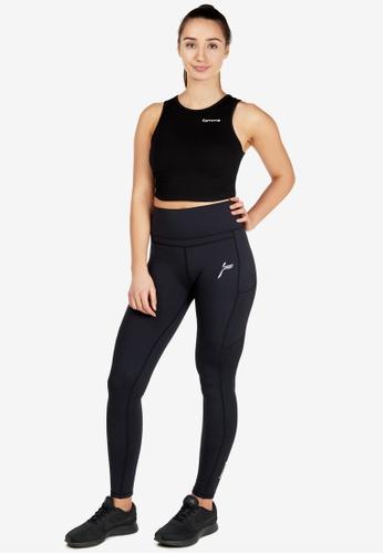Famme Sportswear black Famme Sportswear Black Techna Tights 73443AA895D4B6GS_1