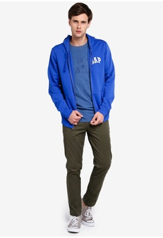 fcaa3614b0 45% OFF GAP Original Arch Full-Zip Hoodie S$ 90.90 NOW S$ 50.30 Sizes XS S  M L XL