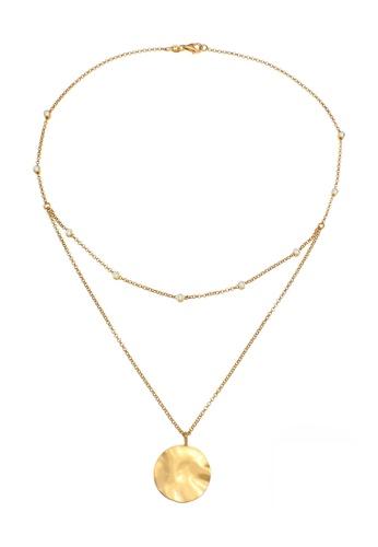 ELLI GERMANY 金色 项链层水晶镀金 355E6AC03A28DCGS_1