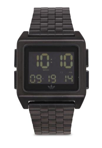 adidas black adidas originals Archive M1 Watch 49857AC5970396GS_1