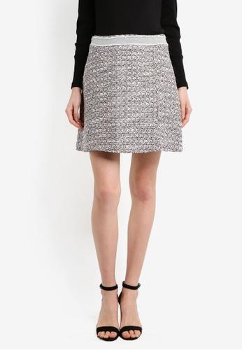 ESPRIT white Woven Mini Skirt D6C52AA7CF7BE2GS_1