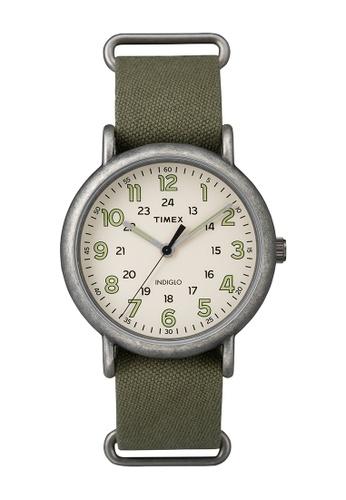 TIMEX green Timex Weekender™ Oversized - TW2P85900 TI205AC0RETCMY_1
