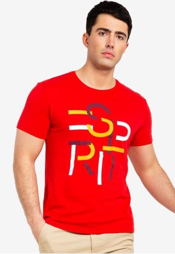 ESPRIT red Short Sleeve T-Shirt 1B8B0AAA57EEBAGS_1