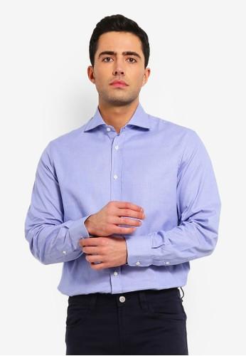 OVS blue Men's Formal Long Sleeves Shirt 0164AAA257C2A9GS_1