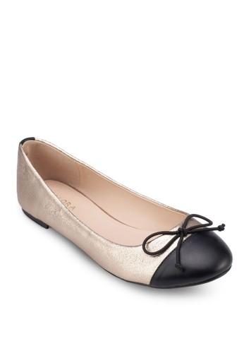 拼色蝴蝶zalora 手錶 評價結娃娃鞋, 女鞋, 鞋