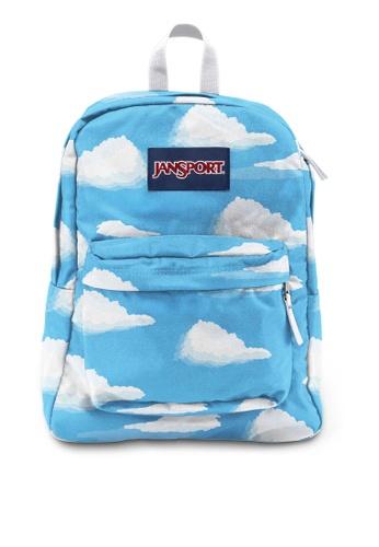 JanSport blue Superbreak Backpack JA216AC0S5IMMY_1