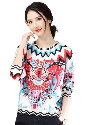 A-IN GIRLS multi Ethnic Print Sweatshirt T-Shirt C3F68AA92E34B6GS_1