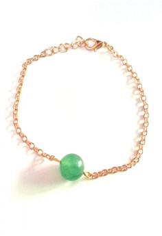 Jade Charm Dainty Bracelet