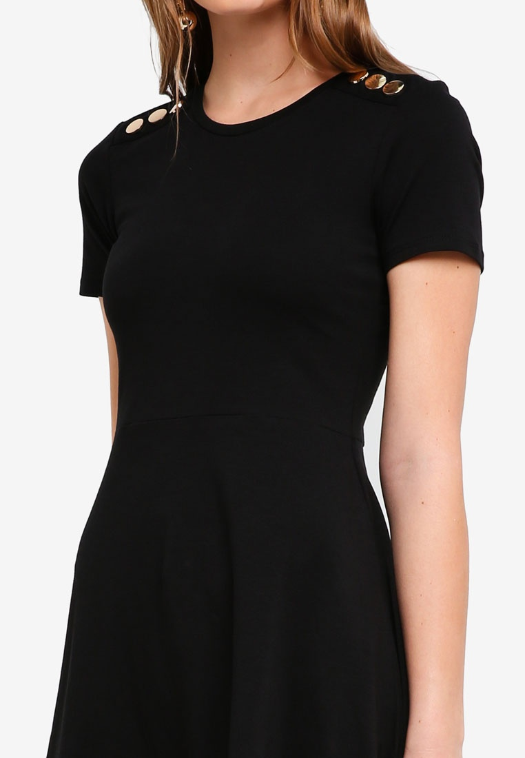 Black Dress Black Dorothy Popper Perkins Skater BEZqrzB