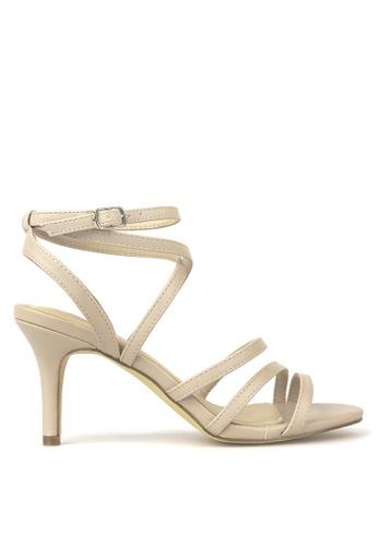 Betts beige Iris Strappy Heels 68D6ASHC91C322GS_1