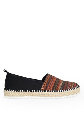 Footspot black FOOTSPOT - Ethnic Espadrilles C9C8FSH6FC7C31GS_1
