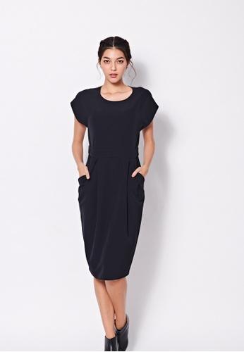 Sisley black Sheath Dress E4F57AA5F80F8CGS_1