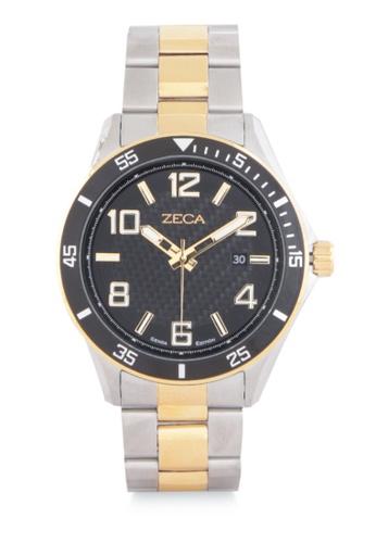 ZECA gold Zeca Watches Men Fashion Stainless Steel Analog - 2014MB Gold ZE074AC0WDASID_1