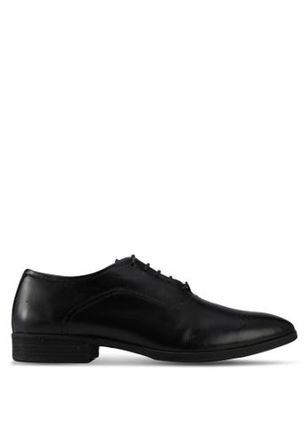 Acuto black Lace Up Dress Shoes AC283SH0SL70MY_1