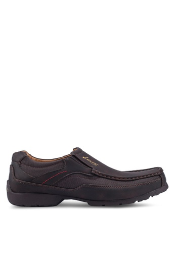 Louis Cuppers brown Sewn Up Slip Ons D53C6SHC37C6D3GS_1