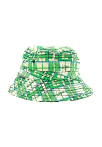 Crazeecausa green OF High Plaid  Bucket Hat Green 659FCACBEFA475GS_1