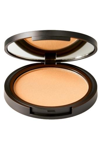 ELLE brown and beige ELLE Makeup Bronzer Compact Natural Tan 16B3FESA0A1936GS_1