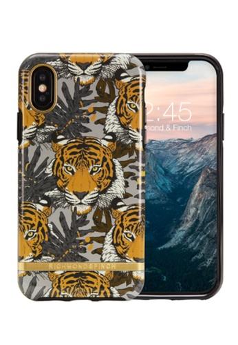 Richmond and Finch multi iPhone XS/X Richmond & Finch Fashion Protective Case (Glossy Tropical Tiger) 48C67AC4EA1DE9GS_1