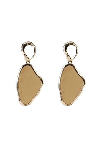 LOWRYS FARM brown Drop Earrings F824CAC36C2170GS_1