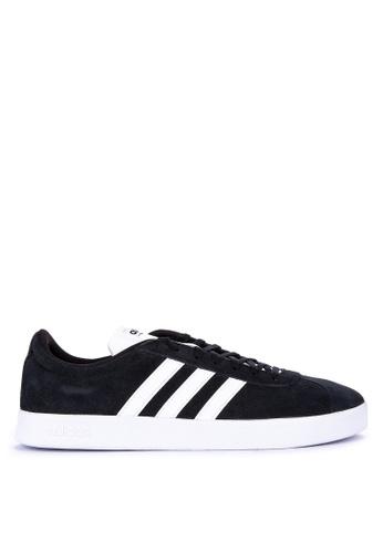 adidas black adidas vl court 2.0 AE737SHF41F898GS_1
