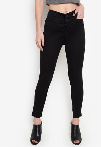 Wrangler black Caitlyn Black Somen Jeans WR067AA92EJZPH_1