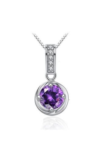 LYCKA silver LPP88072 S925 Silver Necklace 41ACEAC1BCD30CGS_1