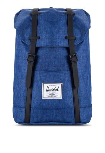 Herschel grey Retreat Backpack HE114AC97QKGMY_1