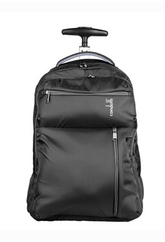 Condotti black Condotti 63090 Backpack Trolley 19 inch - Black 1776FAC3A308ECGS_1