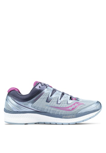 Saucony grey Triumph ISO 4 Shoes SA304SH0SW4XMY_1