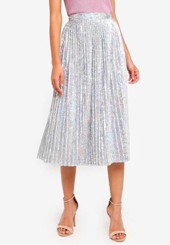 TFNC silver Boho Skirt 775FDAAB7BBA35GS_1