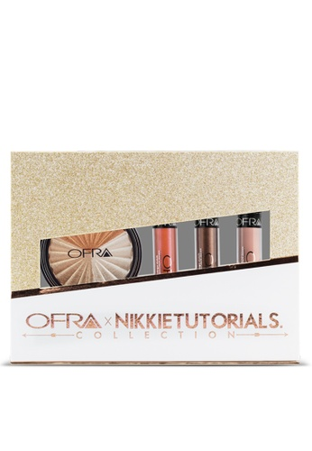 OFRA multi OFRA X NikkieTutorials Collection (Liquid Lipsticks Cove, Spell, Nude Potion ; Everglow Highlighter) 52F57BE3406538GS_1